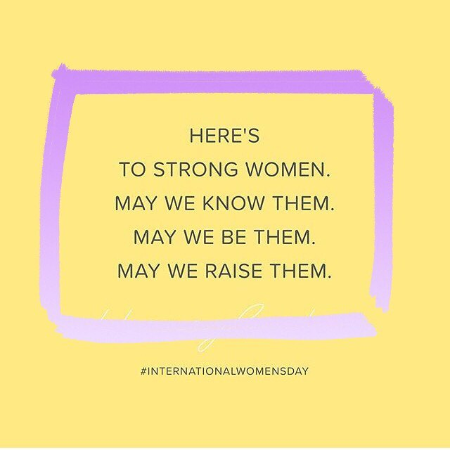 It's been a challenging year for women. Today is a day to remember how far we've come, but not lose sight of where we need to go. #internationalwomensday #weempower