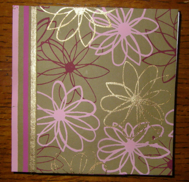 Decorate and adhere papers to books and journals front covers -