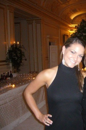 This is the only picture I have of myself in a black dress at a NYC celebrity wedding. Before selfies & probably taken with a disposable camera, too! Don't judge :)