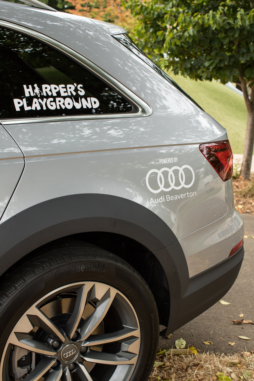 Harpers Playground Audi Raffle - Harper audi