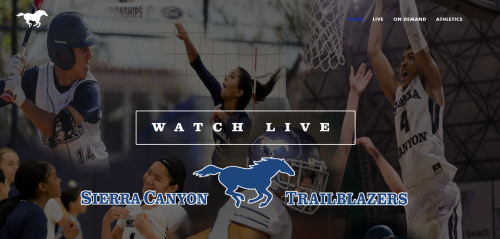 Live streaming video of the Sierra Canyon Trailblazers