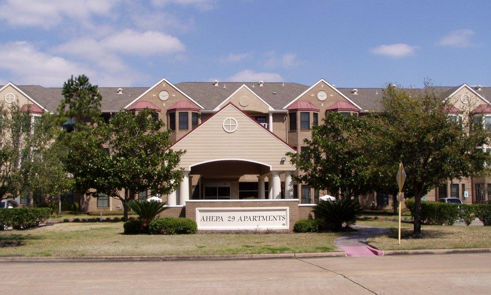 AHEPA 29 I & II Senior Apartments - 13830 Canyon HillHouston, TX 77083(281) 495-9977TTY: (800) 735-2988 or 711info@ahepahousing.org