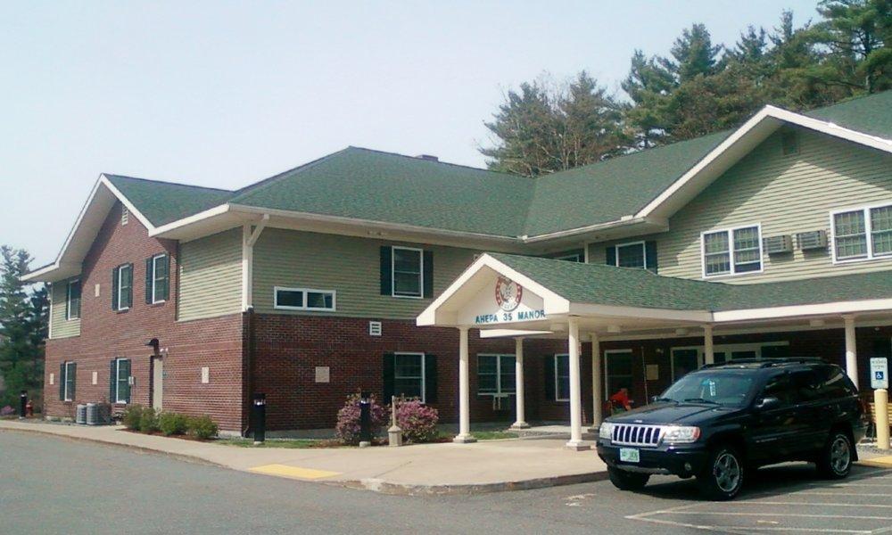 AHEPA 35 Senior Manor - 681 W. Hollis StreetNashua, NH 03062(603) 594-4001TTY: (800) 676-3777 (English)TTY: (800) 676-4290 (Español)info@ahepahousing.org