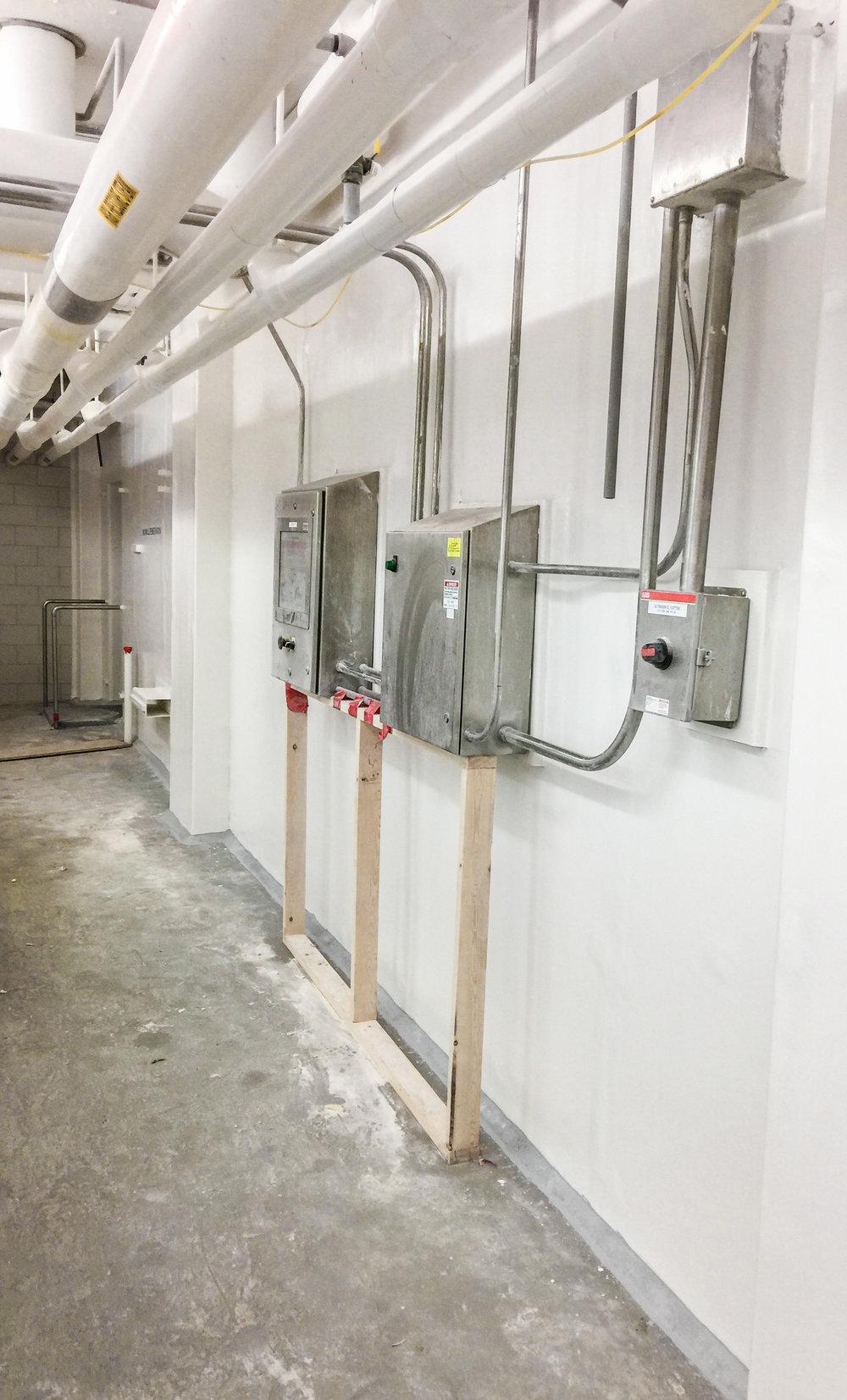 Fiberglass Wall System
