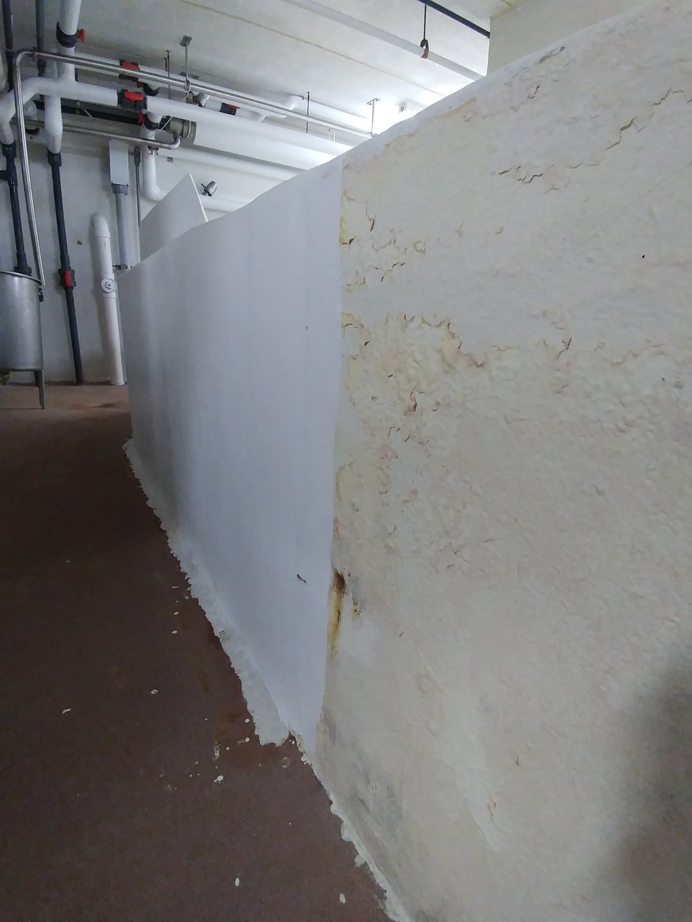Wall Repair BEFORE/AFTER
