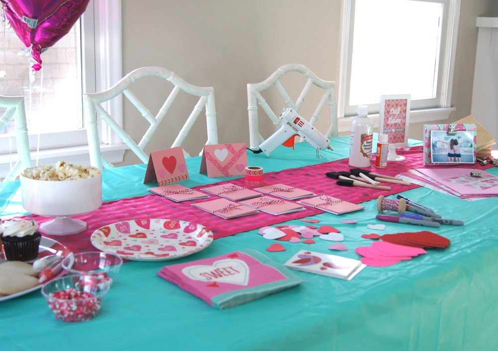 Get crafty and give back by creating cards for kids in in the hospital during Valentine's Day.