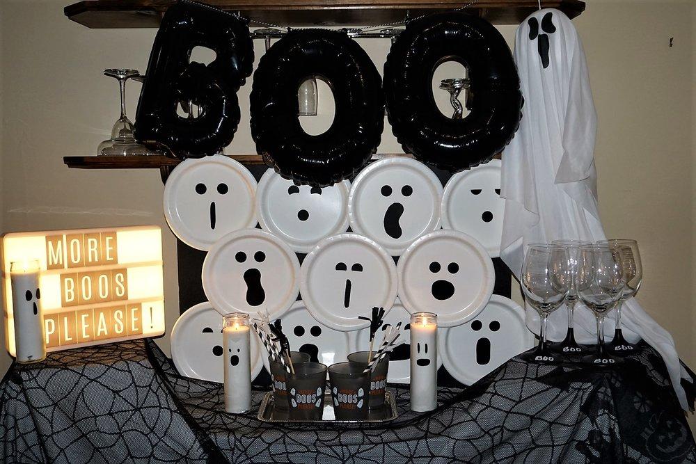 More Boos Please Halloween Bar