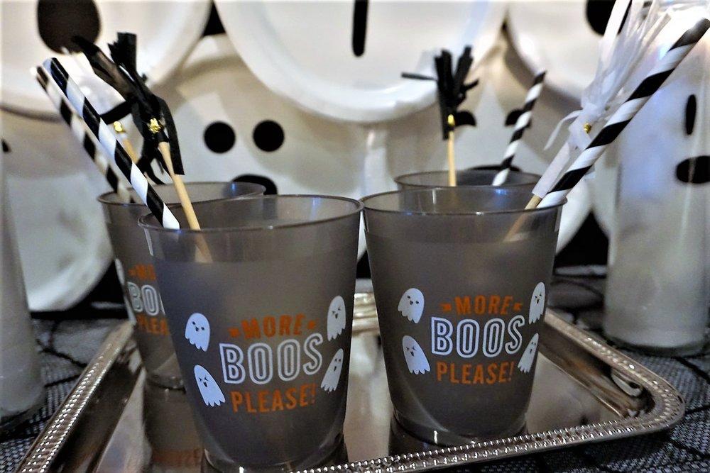 Halloween drink cups