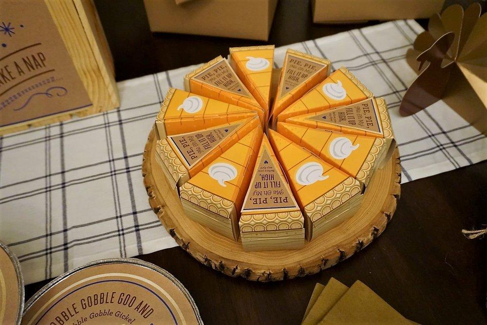 Pumpkin Pie Boxes