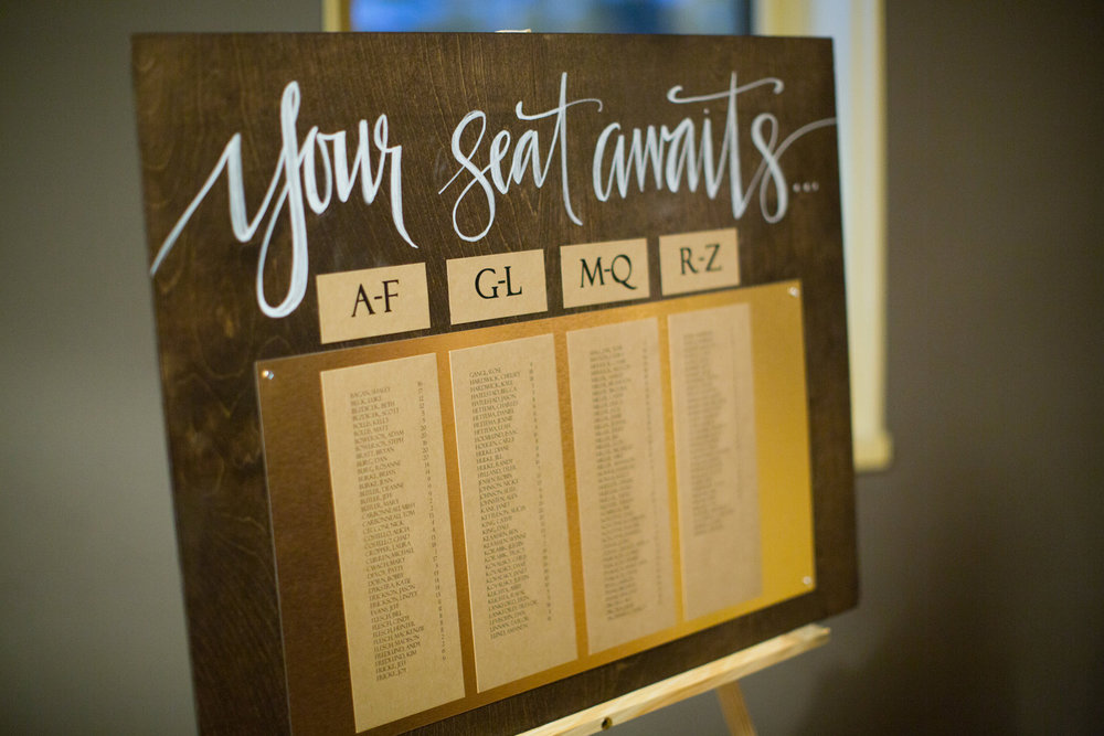 you may be seated a diy wedding seating chart