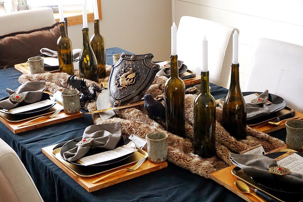 Game of Thrones themed dinner party.