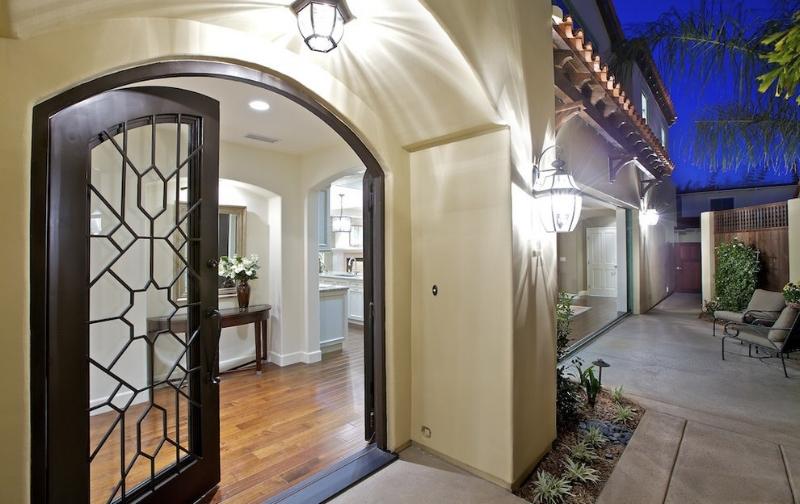 Regency - Wrought Iron Front Door Open.jpg