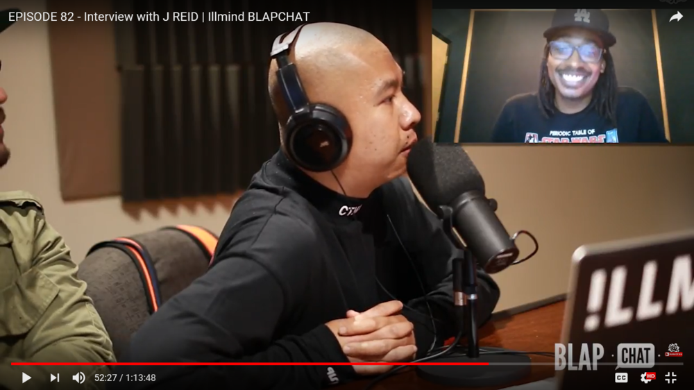EPISODE 82 - Interview with J REID | Illmind BLAPCHAT