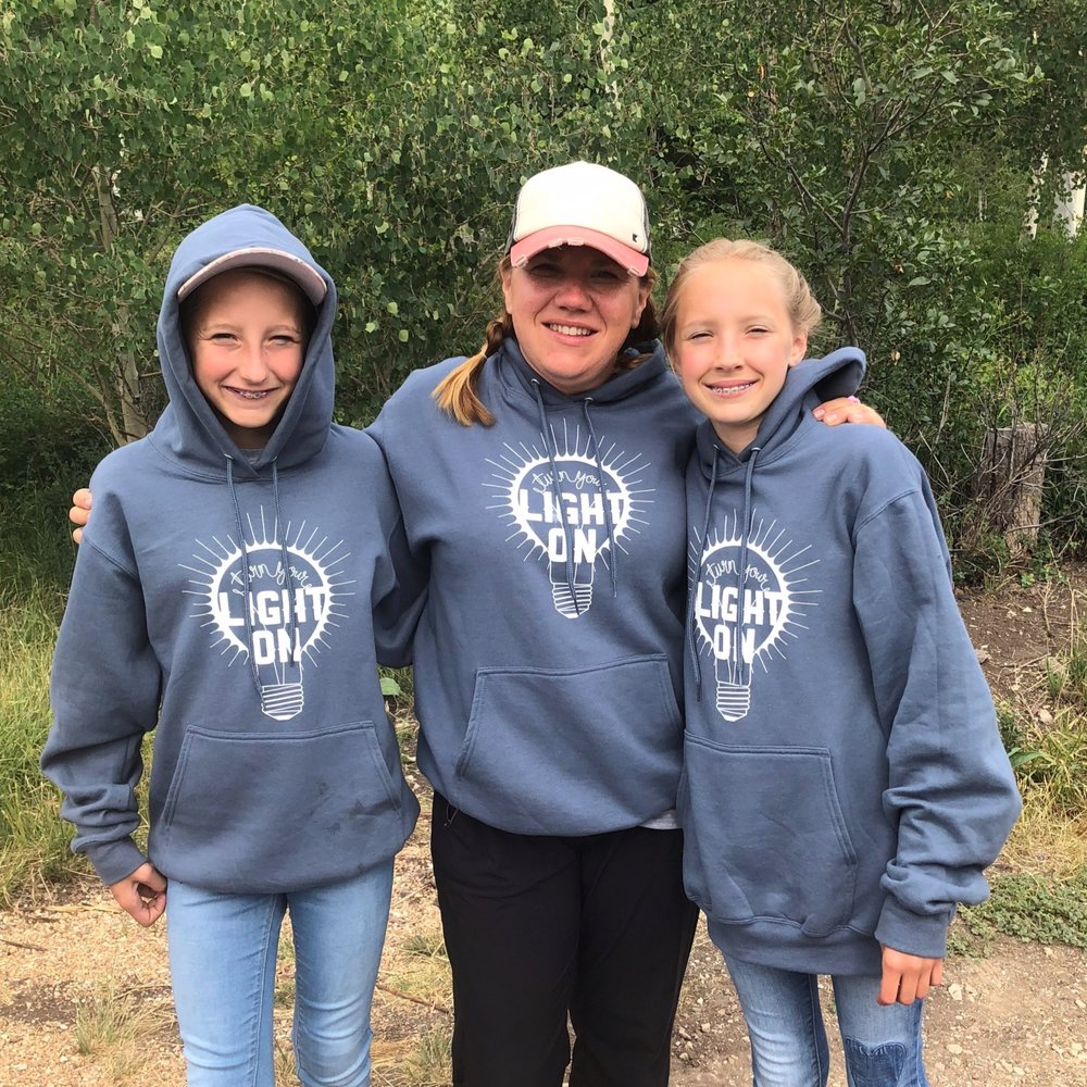 This was the first year my girls were able to go to girls camp and it was such a treat for me! I served on the stake girls camp committee, which meant I wasn't with them all the time, but I got to see them and hug them and be there for some of the big things.