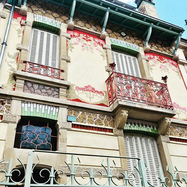 Nancy I'm counting the days!.. #architecture #artnouveau #wishthiswasmine #painting #art #walkinginfrance