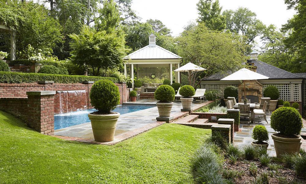 Terrace garden -