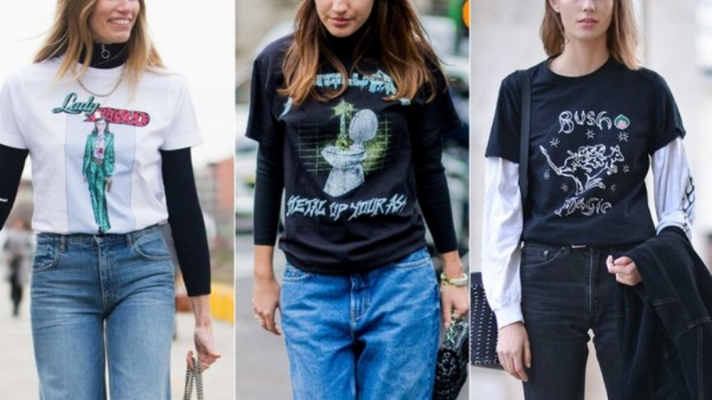 SEE!?!? - A REGULAR T-SHIRT & JEAN OUTFIT TURNED INTO A FASHIONABLE LOOK.