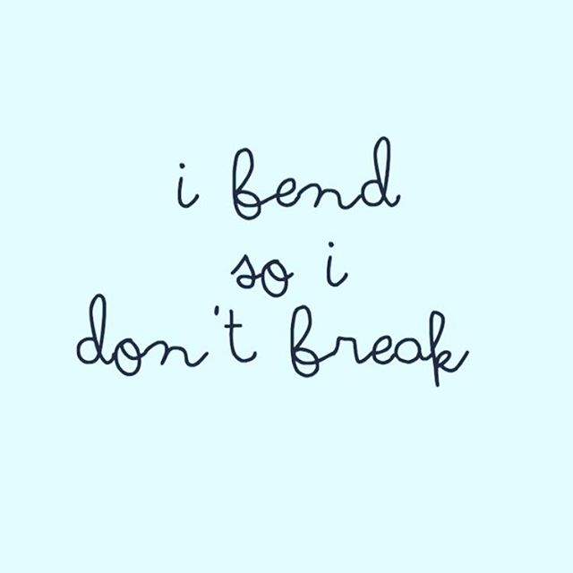 True in yoga, true in life! 🕉 • www.morethanyoga.com • #benddontbreak #yogalessons #lifelessons #yogalifestyle #asana #meditate #selfcare #om #shanti
