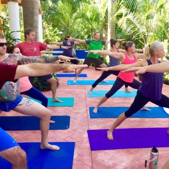 We are all warriors of our own lives! Don't let anyone tell you different. • • Find us weekly for classes inside @palapasuuk on CTM between 5th and 10th Ave, Playa del Carmen 🇲🇽 or check us out online at www.morethanyoga.com • • #yoga #yogapose #asana #warrior2 #yogainparadise #yogapractice #yogaeverydamday #namaste