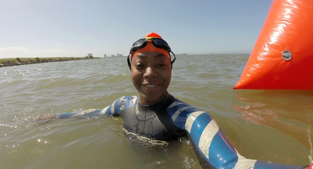Angela Stockard Odyssey Open Water Swimming