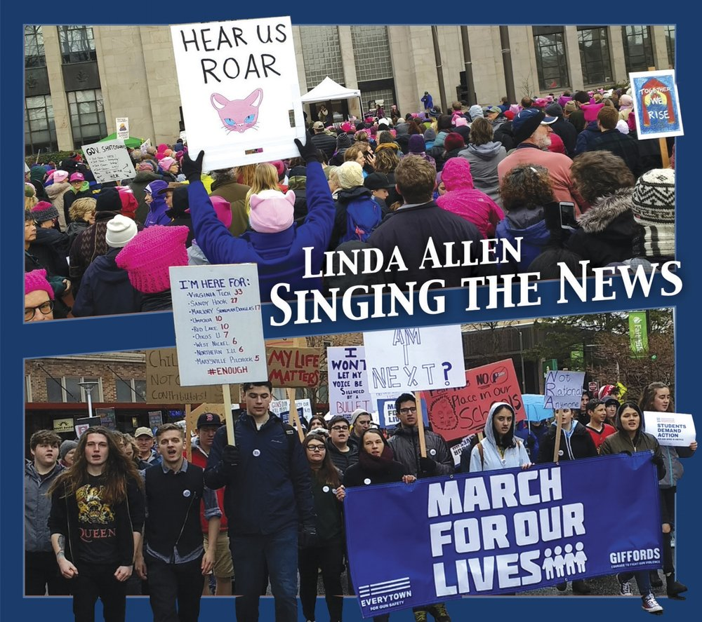 Singing the News. Cover photos by Scott Slaba
