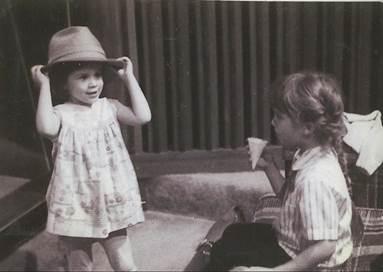 Kristin (left), and Jen