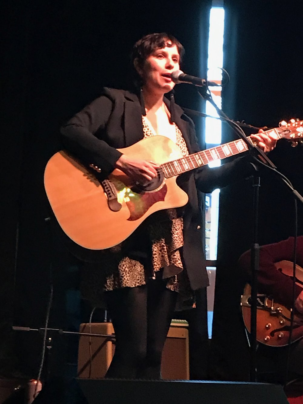 Kristin at the Firefly, April 7, 2019