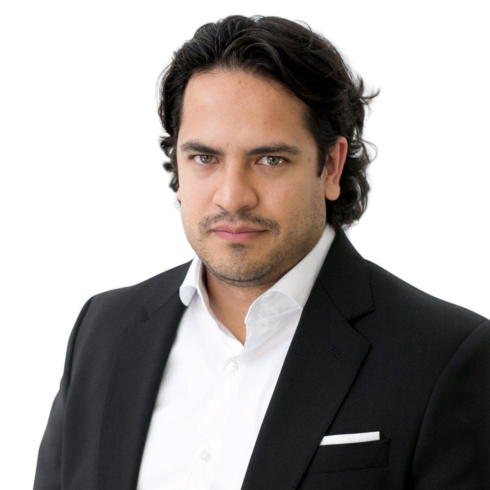 Francisco Escobar, CFA   Chairman, CEO  8 years financial industry experience
