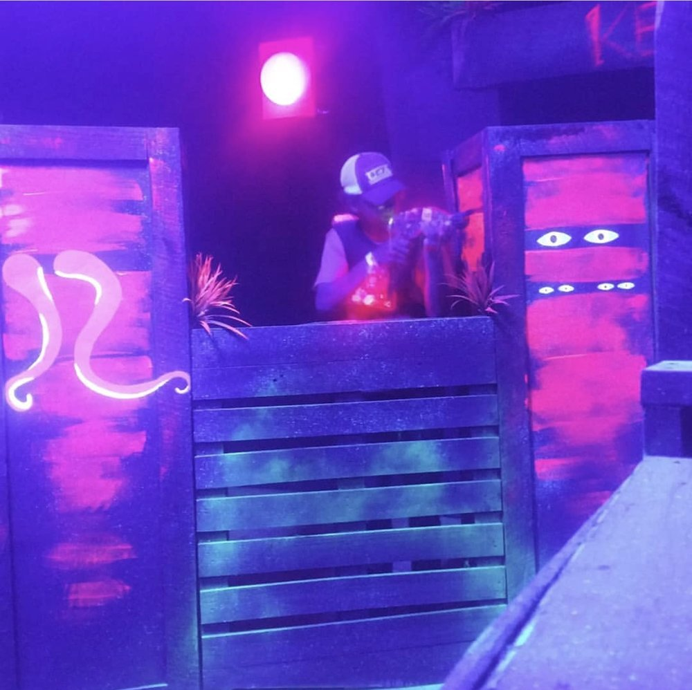 If you're in the mood for something a bit more competitive, try out our brand new custom laser tag arena. With plenty of space to hide and shoot, this is a great way to encourage team work and to have a whole lot of fun in the process.