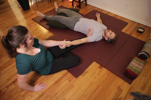 Passive Stretching -
