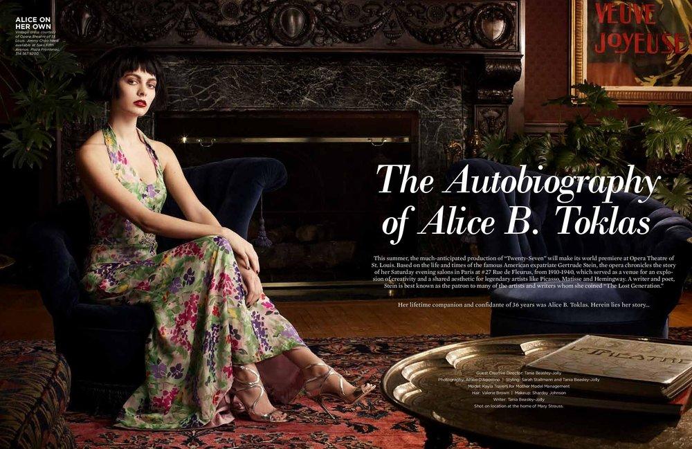 Creative Direction - ALIVE Magazine