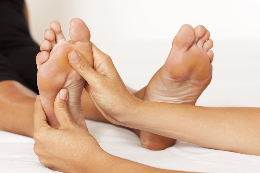 Reflexology at Pure Health Clinic in midtown Toronto