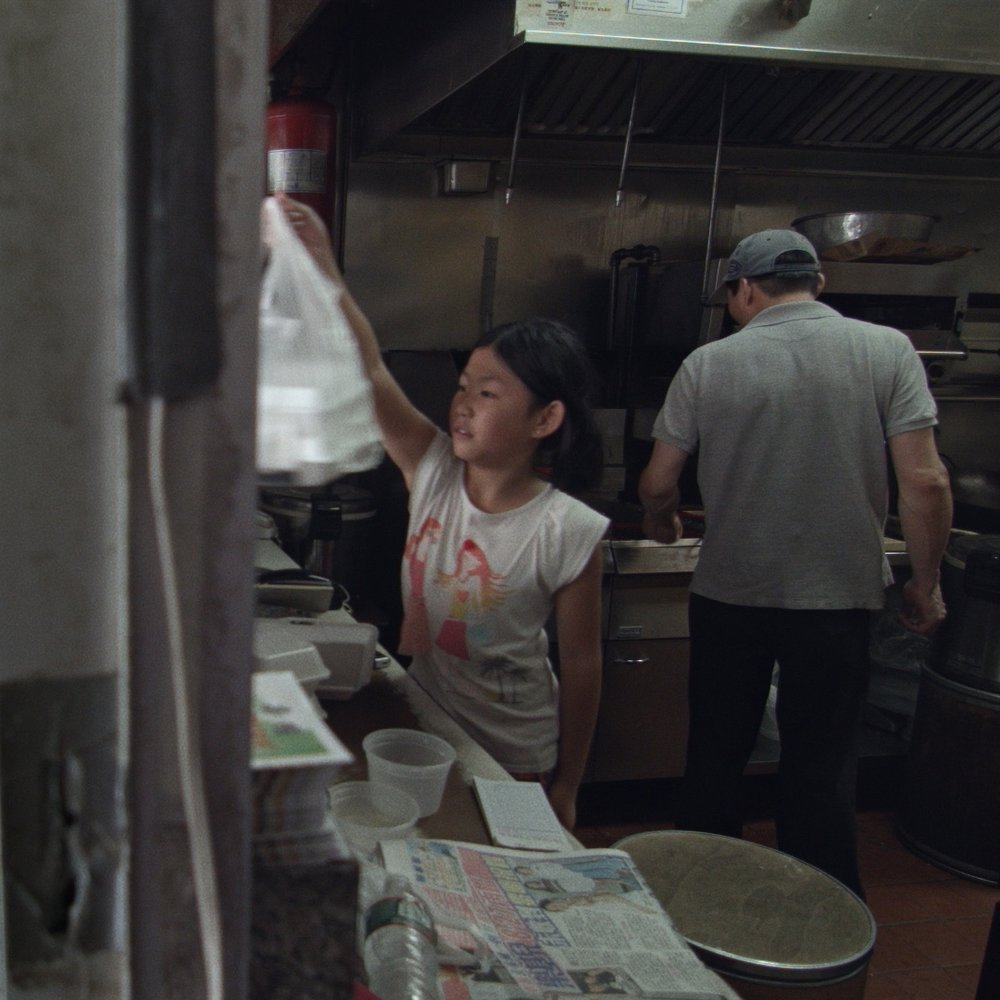 Anna He as CHINESE TAKE-OUT EXTRA    Filmed at:    Empire Chinese Restaurant    in Washington Heights