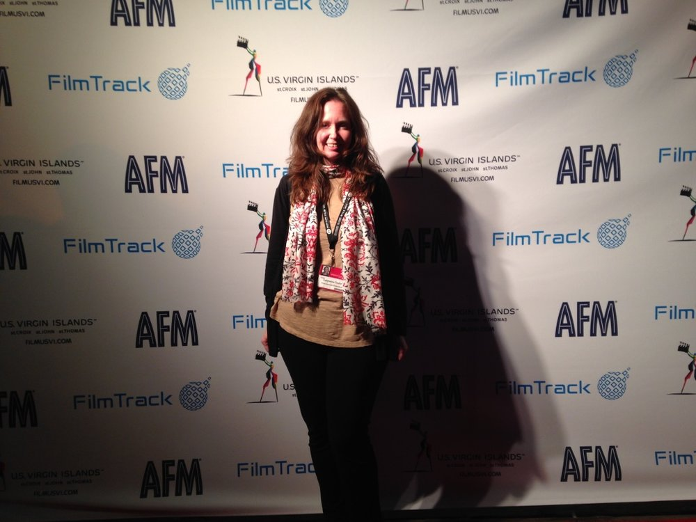Carylanna Taylor, ANYA writer/producer, at AFM2015. Photo by Jacob Okada.