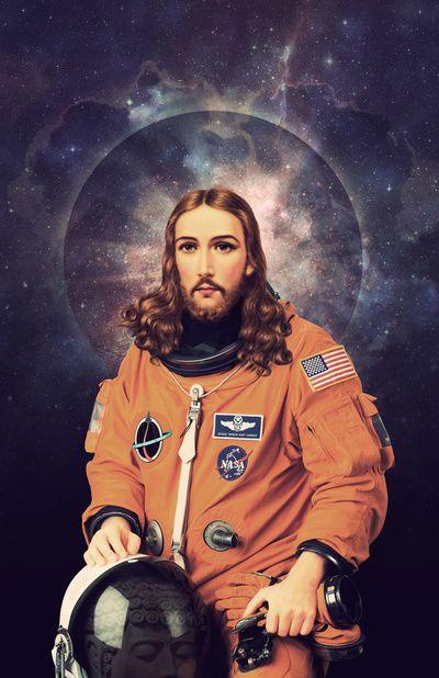 Jesus SpaceMan