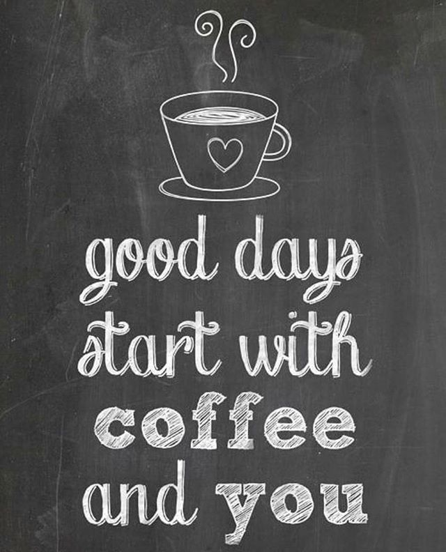 Have a great day friends! ☕️ #fiveoclockcoffee