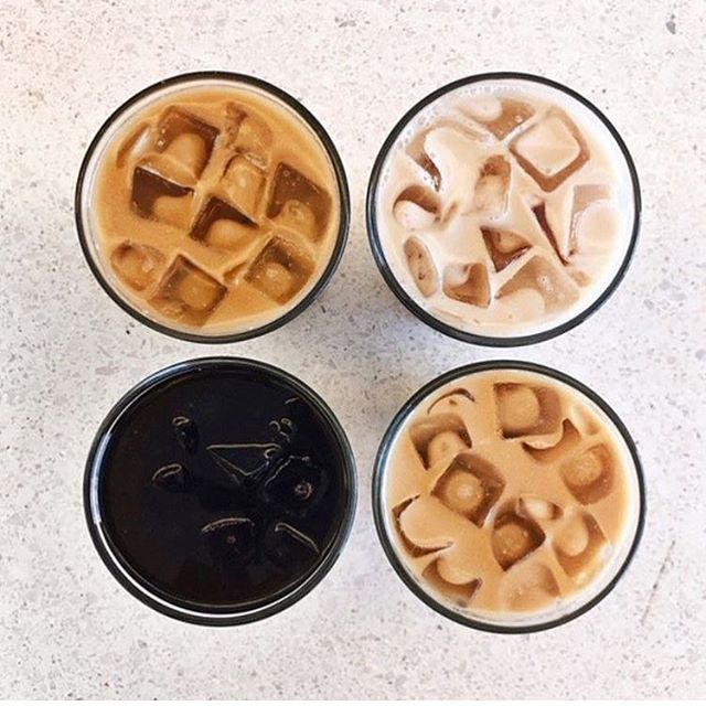 Ice Ice Baby ❄️ Make any of our delicious coffees cold...just add ice! #fiveoclockcoffee #icecoffee #lifehack