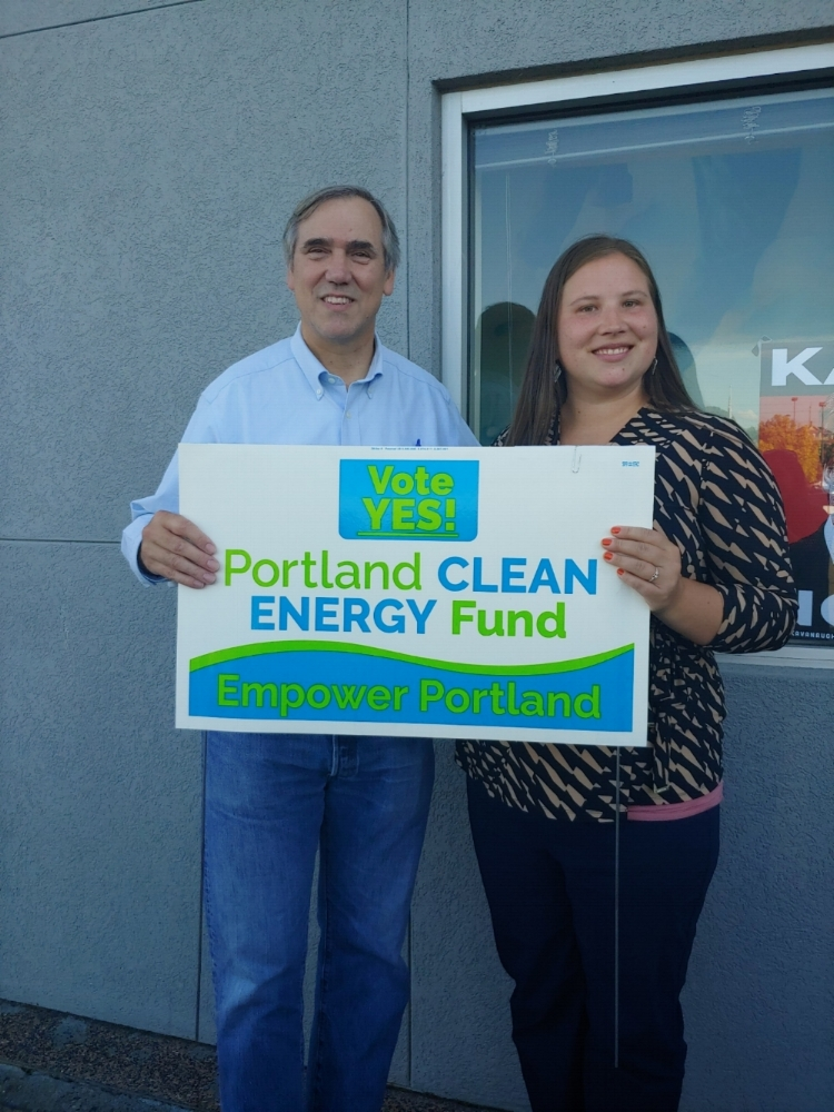 U.S. Senator Jeff Merkley in support of the Portland Clean Energy Initiative