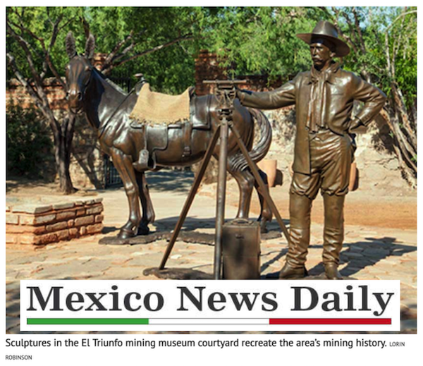 """""""… history has been well preserved."""" - MEXICO NEWS DAILYLorin R. Robinson, MAR 2019"""