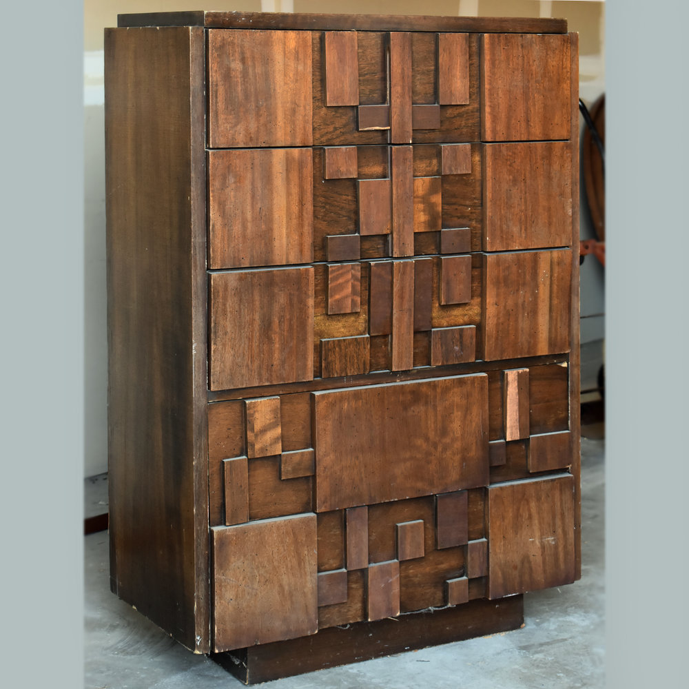 Copy of lane brutalist dresser  |  $1,575 customized