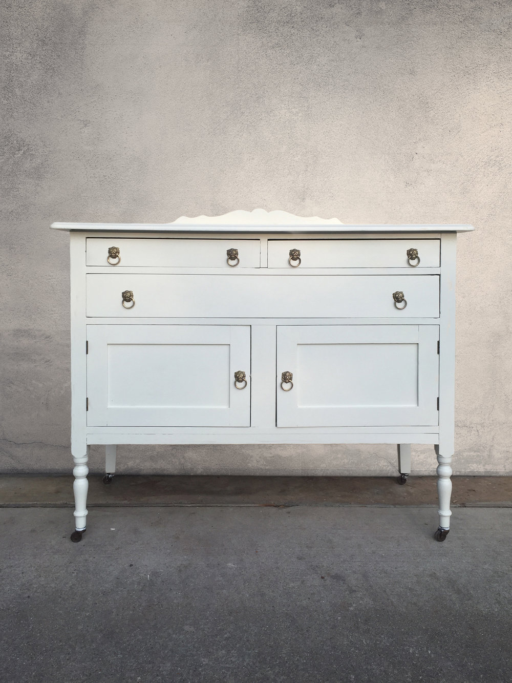 white wedding buffet  |  $875