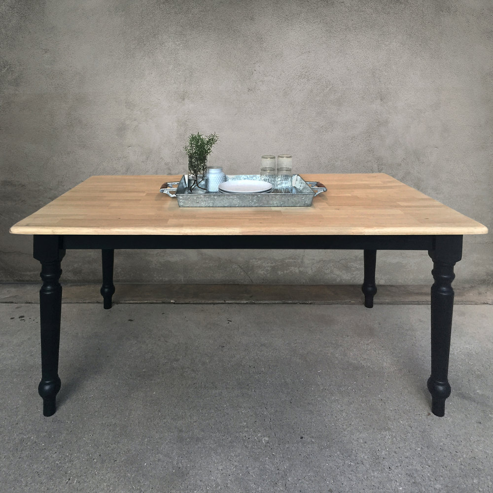 Copy of modern farmhouse table  |  $425