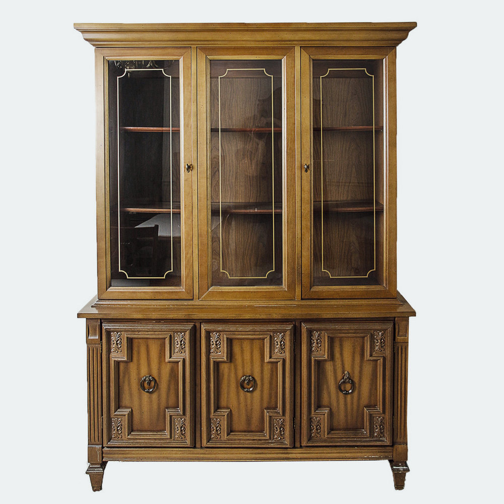 mid century china cabinet  |  $1,125 customized