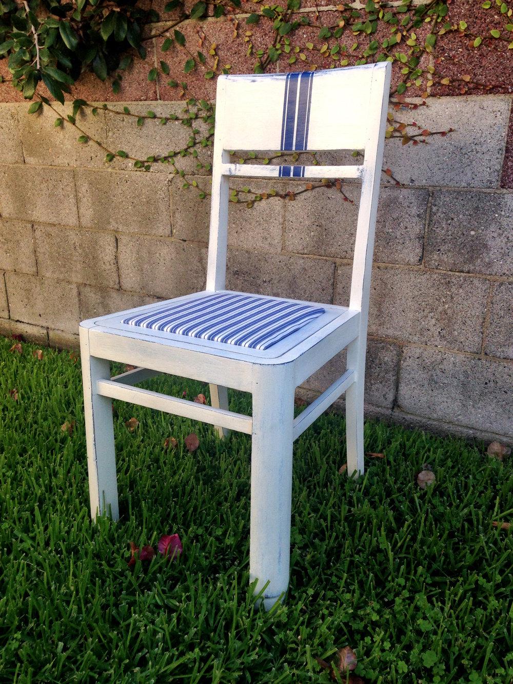 crimson + oak designs | grain sack striped chair 01.JPG