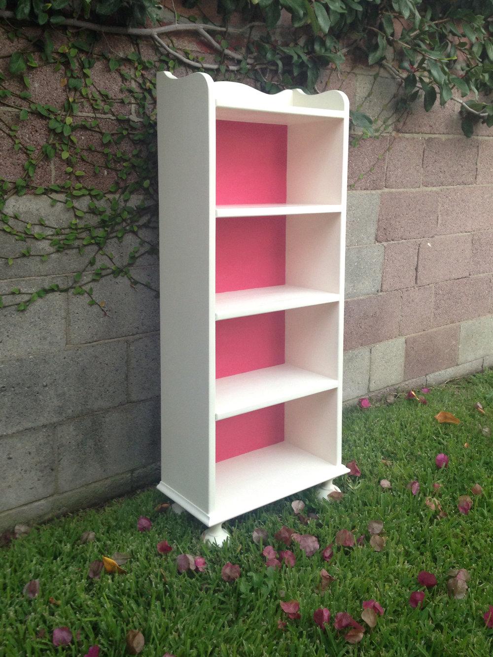 crimson + oak designs | barbie pink bookcase 01.JPG