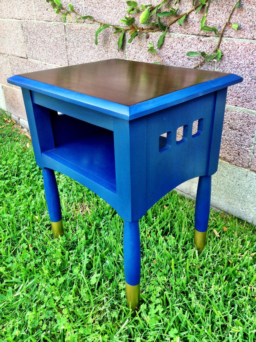 crimson + oak designs | bold blue end table 02.JPG