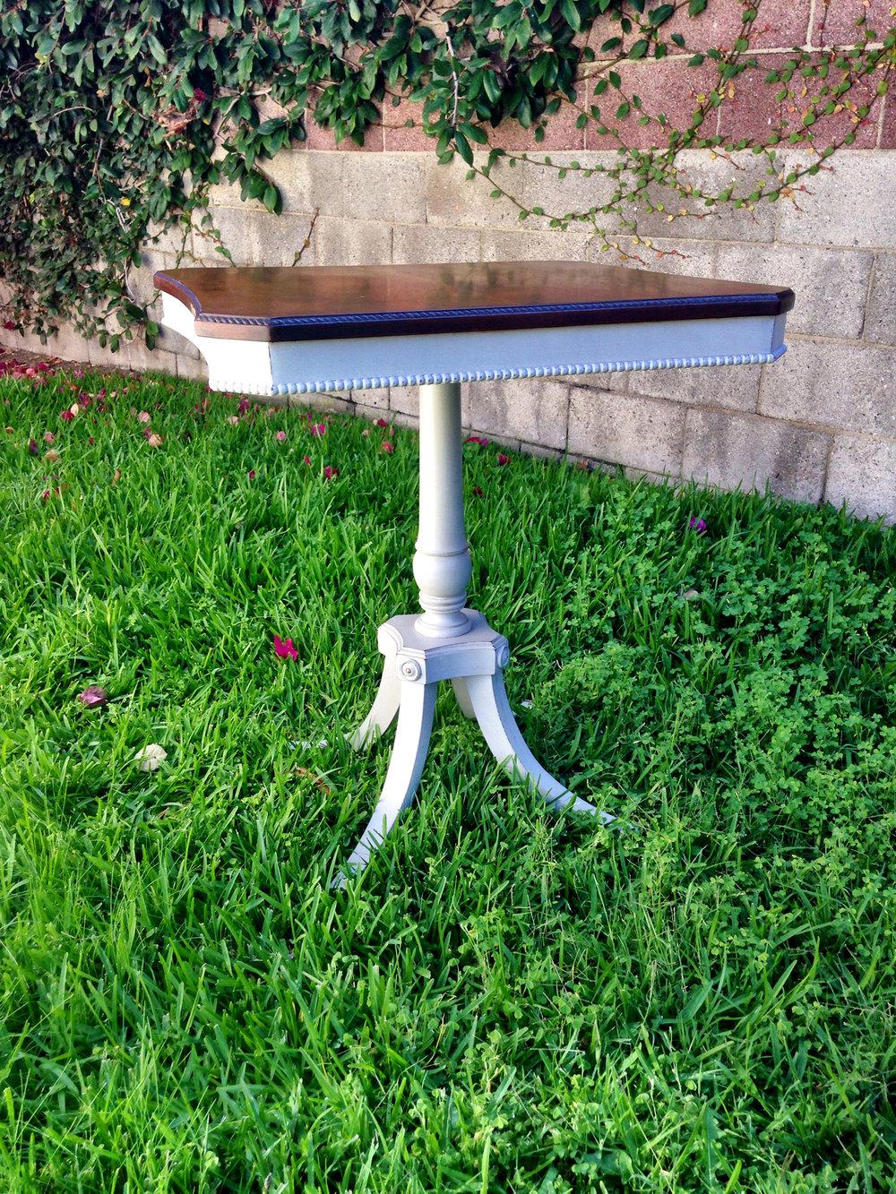 crimson + oak designs | antique square accent table 02.JPG