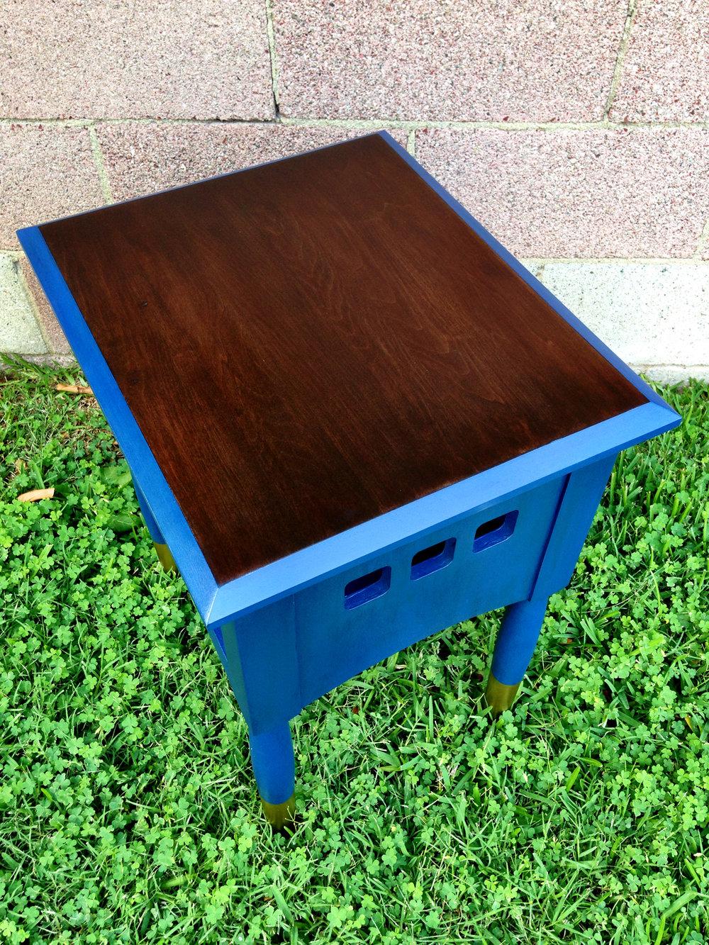 crimson + oak designs | bold blue end table 03.JPG