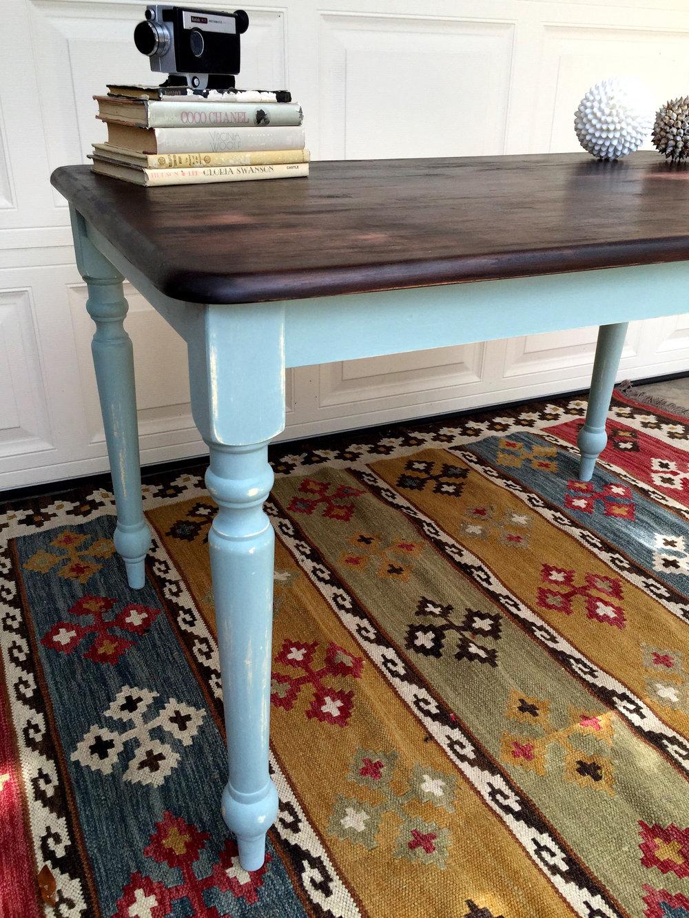 crimson + oak designs |  small farmhouse style table-turned-desk 005.JPG