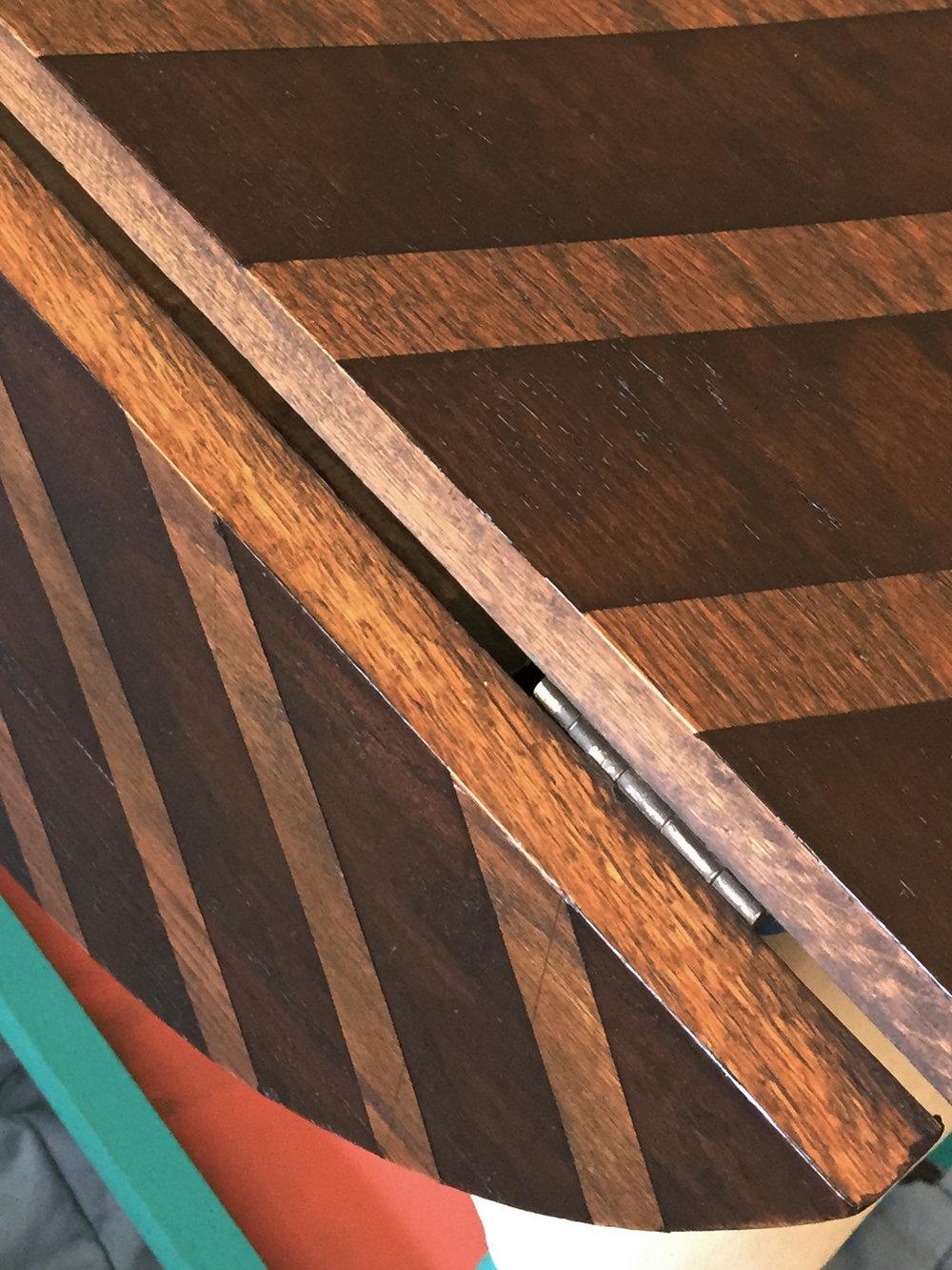 crimson + oak designs | chevron tea cart D2.JPG